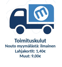Toimituskulut 9,00 €